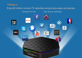 T95z Plus Amlogic S912 Android 6.0 2G/16G TV BOX - Merimobiles