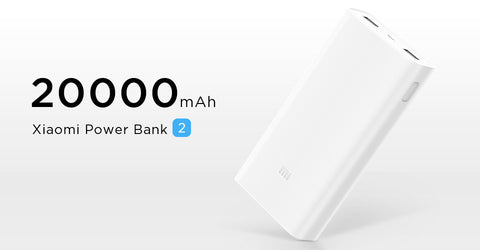 Xiaomi Power Bank 2 20000mAh 2 Way Quick Charge 3.0 - Merimobiles