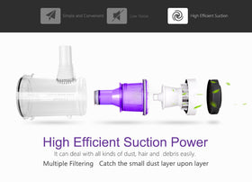 PUPPYOO Low Noise Household Portable Vacuum Cleaner WP526 Pre-order