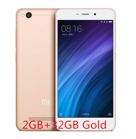 Xiaomi Redmi 4A Snapdragon 425 Quad Core CPU 2GB RAM 16GB ROM 5.0 Inch 13.0MP GLOBAL VERSION - GlobalGadgetShop