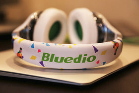 Bluedio Air Fashionable Wireless/Bluetooth Headphones