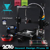 TEVO Tarantula I3 Aluminium Extrusion 3D Printer with FREE 2 Rolls Filament 8GB SD card