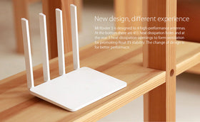 Xiaomi Mi WiFi Router 3 Smart router  4 Antennas 1167Mbps 5G 802.11ac b/g/n WIFI Dual Band  Support iOS - Merimobiles