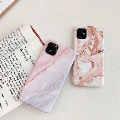 Ốp marble điện thoại iphone