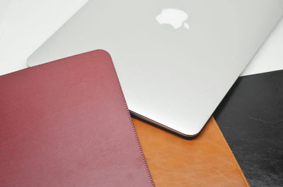 Bao da macbook full size - Da bò