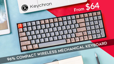 Keychron K4 Nhựa Led RGB Optical