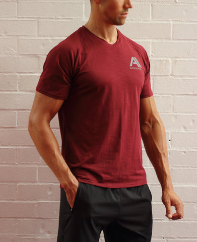 Ascent V  Neck T Shirt