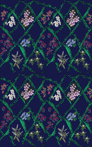 Bushwalk - Wallpaper or Fabric