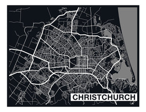 City Map Art Murals