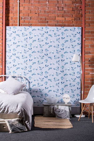 Dawn Chorus - NZ inspired wallpaper and fabric