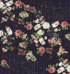 Vintage Floral Tile Wallpaper
