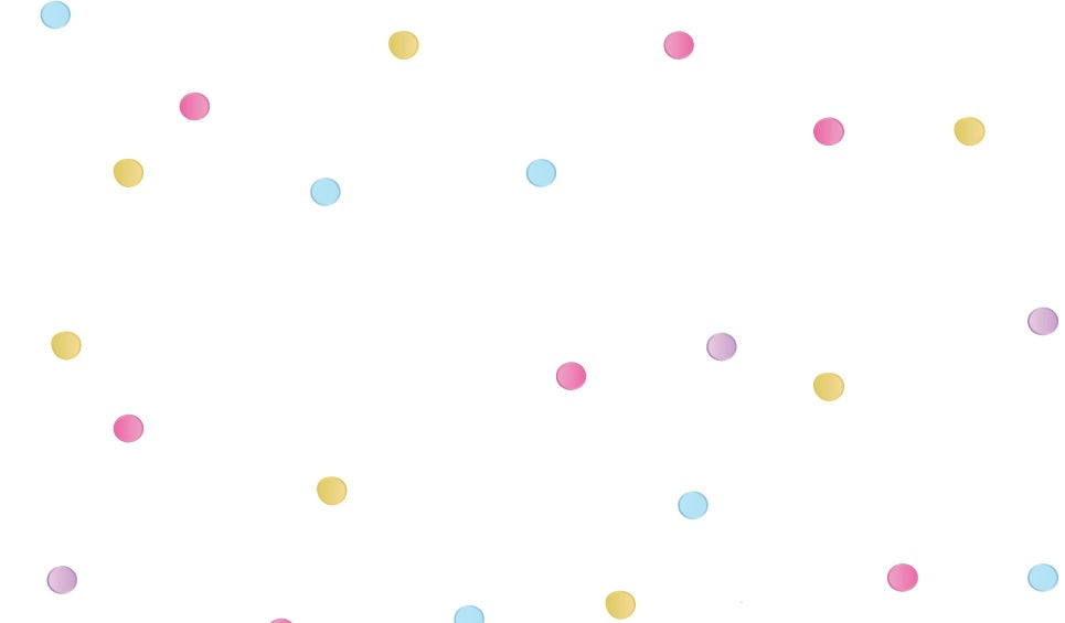 Hollys Dots Wallpaper - Close Up (60%)