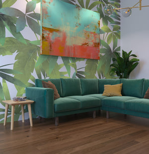 Tropical New Zealand Mural - Large Scale