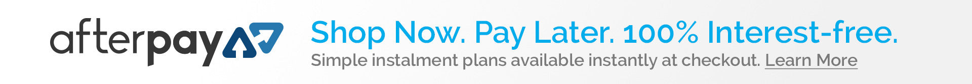 Shop NOW pay LATER - afterpay