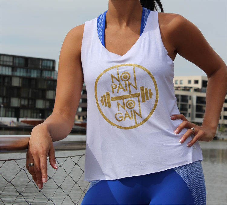 Womens Tank Top No Pain no Gain
