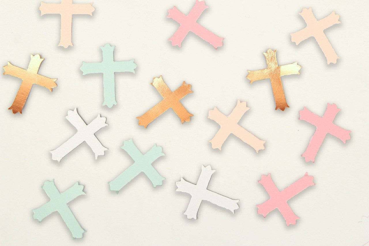 "12 pcs- 1.5"" Cross Die-cut"