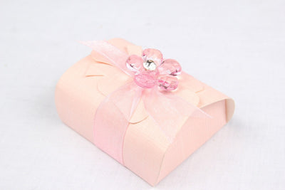 12 pcs-Small Package Favor Box w/ Bow - Americasfavors