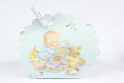 12 pcs-Baby Clam Baby Toys Engraving Box - Americasfavors