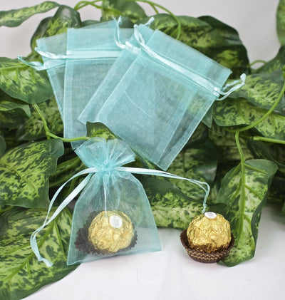 "3""x 4"" Organza Pouches (12 pieces) - Americasfavors"