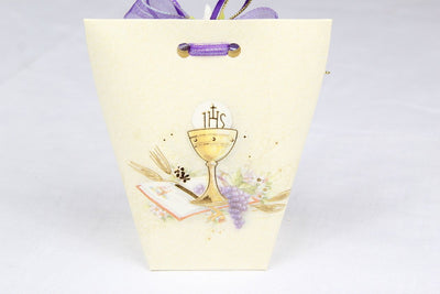 12 pcs-Communion Wine & Grape Envelope Box