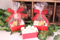 12 pcs-Tray Favor Box (Red)