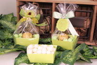 12 pcs-Tray Favor Box (Lime)