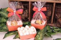 12 pcs-Tray Favor Box (Orange)
