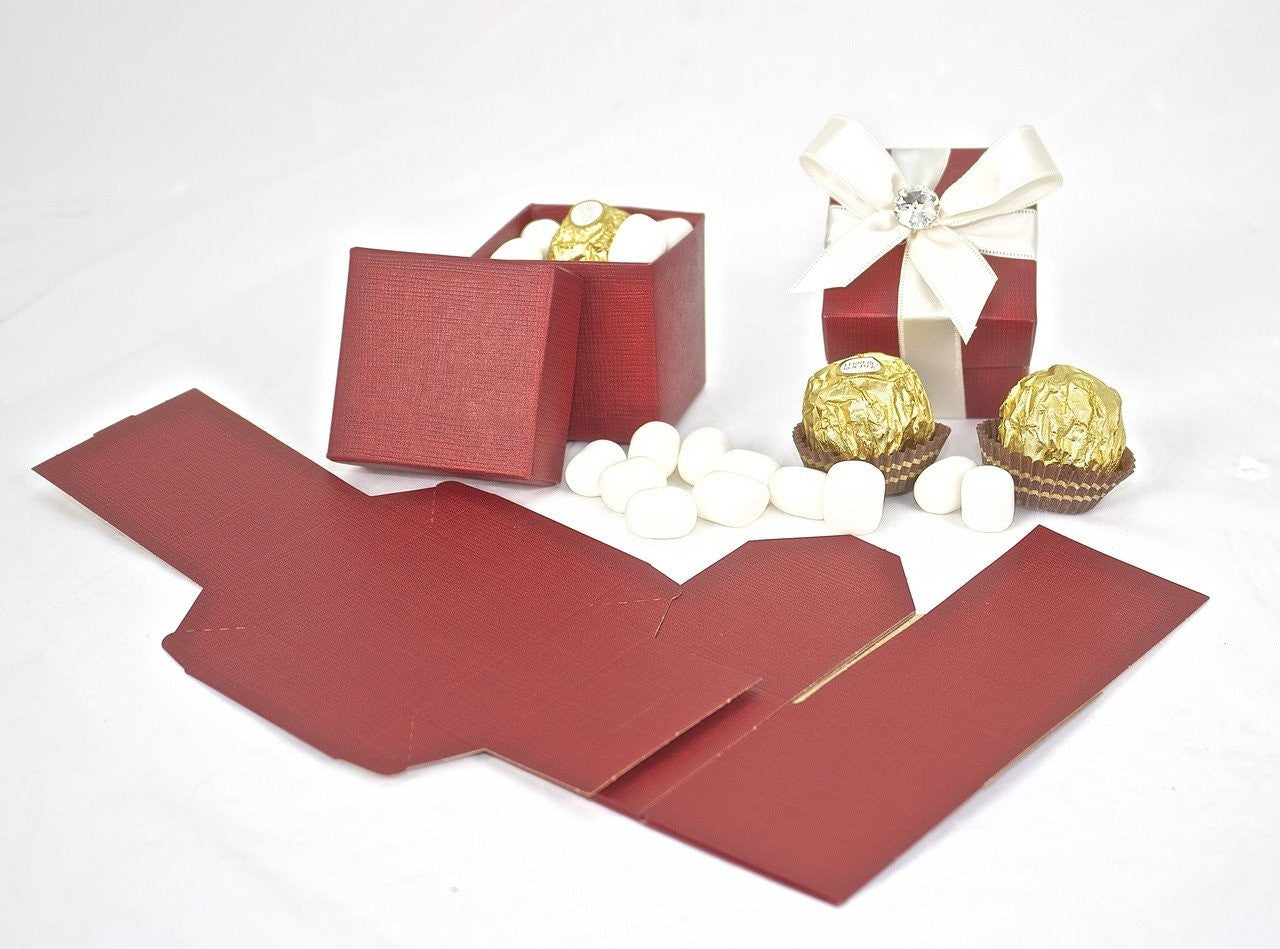 12 pcs-Italian Favor Box 2x2