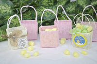 12 pcs-Square Tote Bag w/out bow