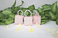 12 pcs-Large Square Tote Favor Bag