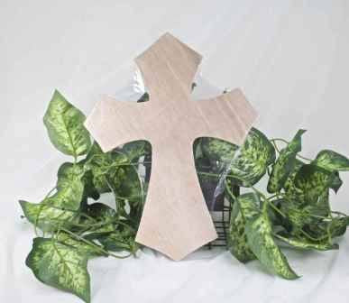 "1 pc- 6"" Wooden Cross"