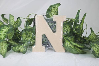 "6"" Wood Letters (A thru Z) - Americasfavors"