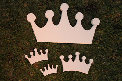 Foam Crown White