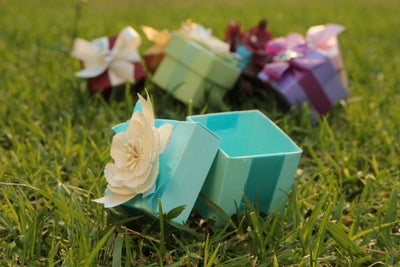"2"" x 2"" Italian Favor Boxes without Candy"