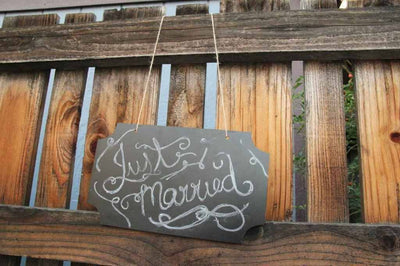"12""- Hanging Chalkboard Sign"