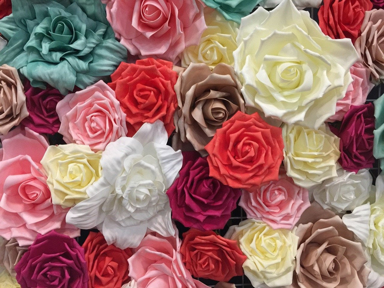"1 pc- 15"" Foam Flowers (Multiple Colors)"