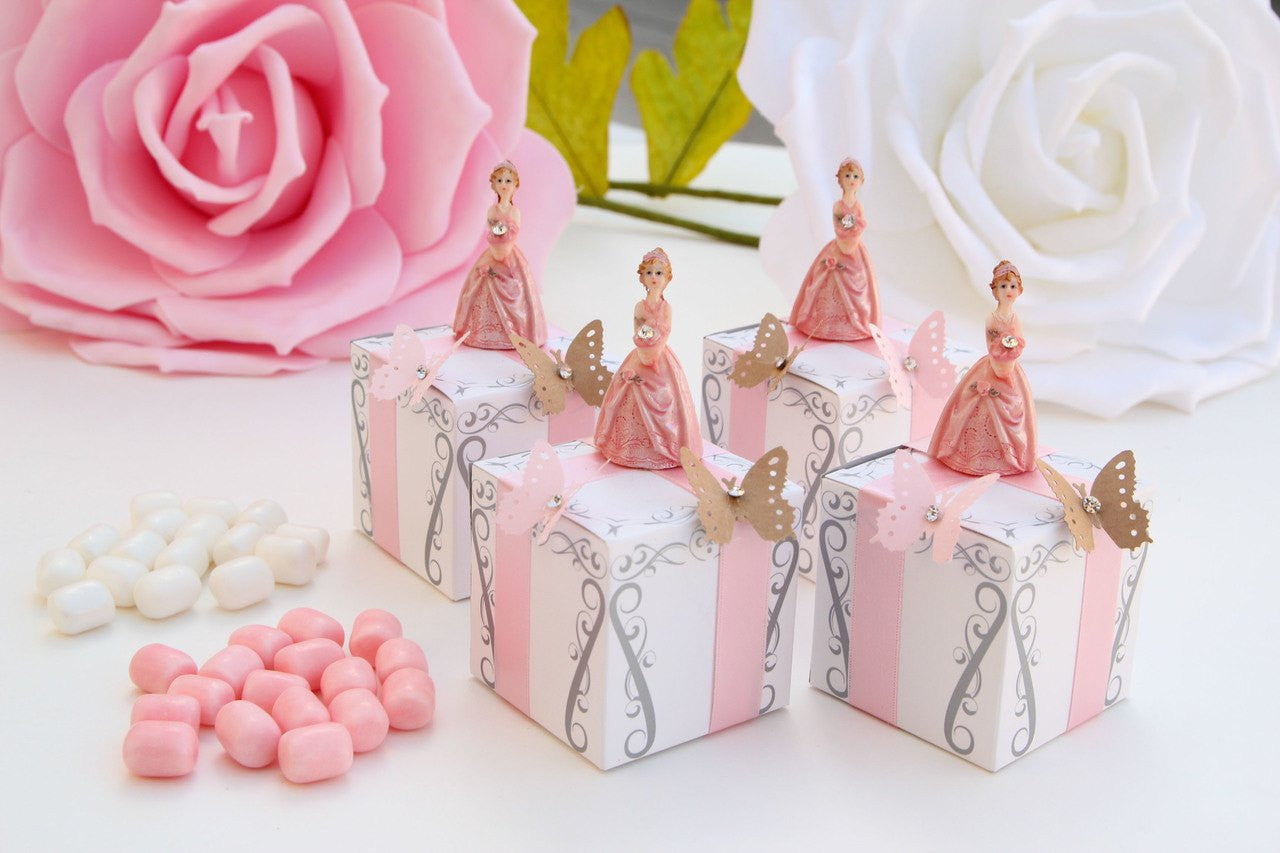 Quinceanera Butterfly Favor Boxes
