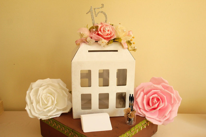 Italian Window House Card,Letter and Money Box - Americasfavors