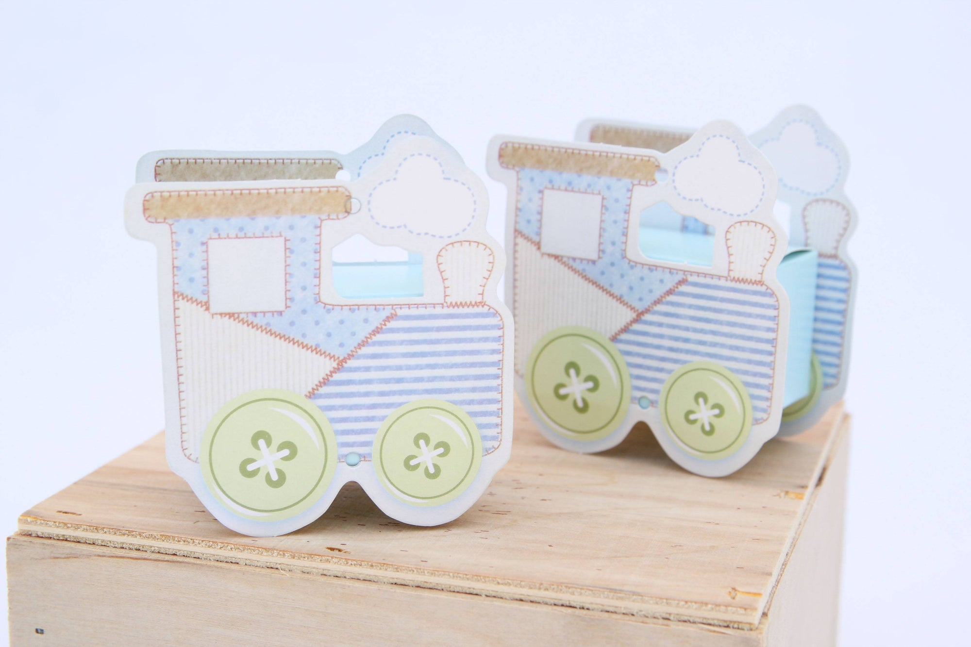 Baby Shower Train Favor Box - Americasfavors