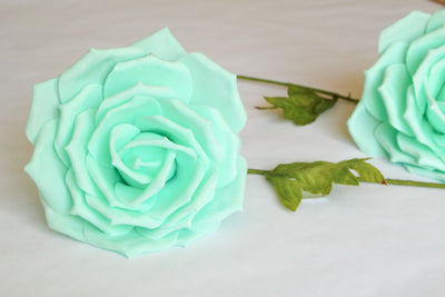 "10"", 14"" & 18"" Rose Foam Flowers (Multiple Colors) (1 piece)"