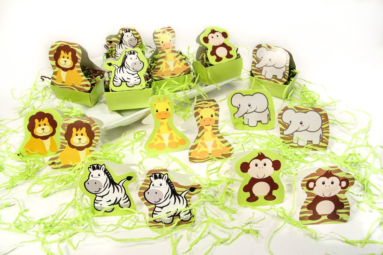 12 pcs- Safari Diecut