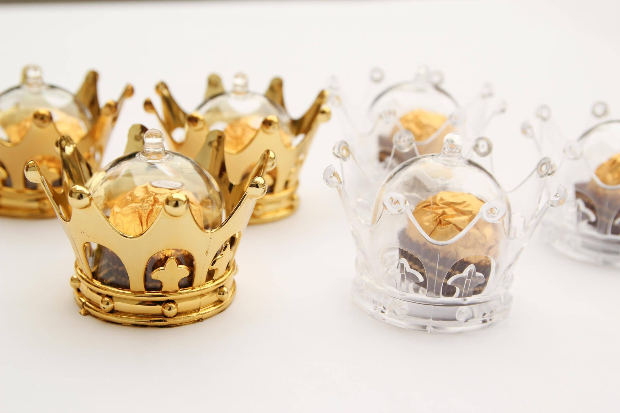 Gold Party Favor Crowns