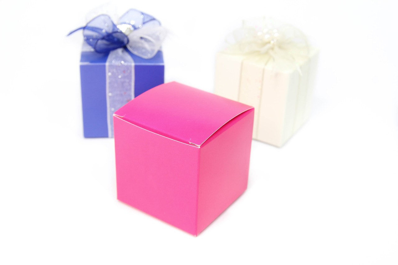 "12 pcs, 2""x 2"" Favor Box"