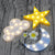 Twinkle Stars Cloud, Moon, Star LED Light for Home Decor, Walls, Backdrops, Desks, Night Light (Battery Operated)
