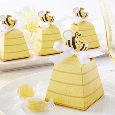 Bee Favor Boxes (12 pieces) - Americasfavors