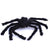 Halloween Scary Big Black Furry Spider Decoration Prop