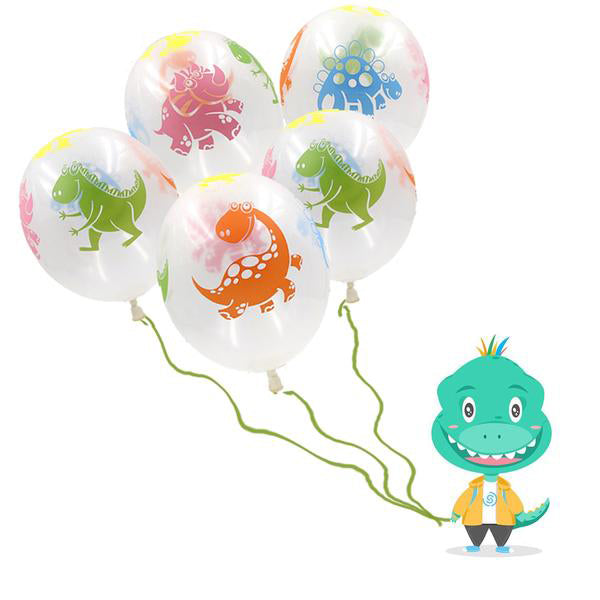 "20 Count 12"" Dinosaur Latex  Balloons Party Decorations"
