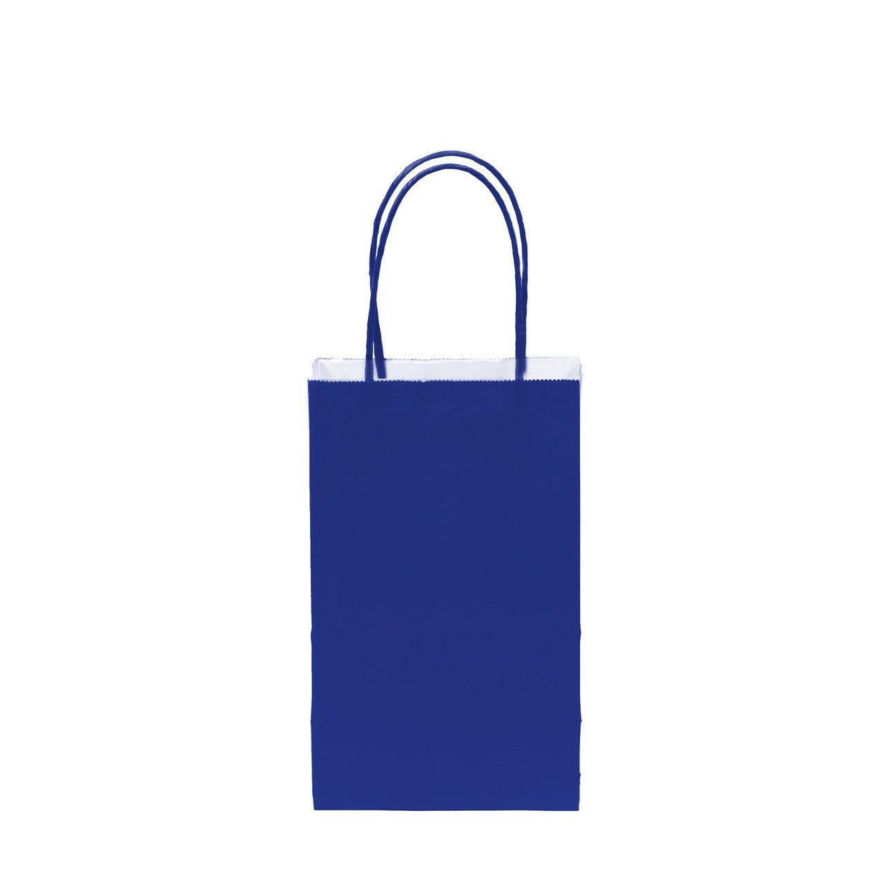 "12 pcs- Solid Royal Blue Color Kraft Bag 5"" x 8.25"""