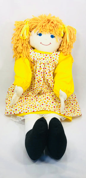Large Rag Doll - Janet