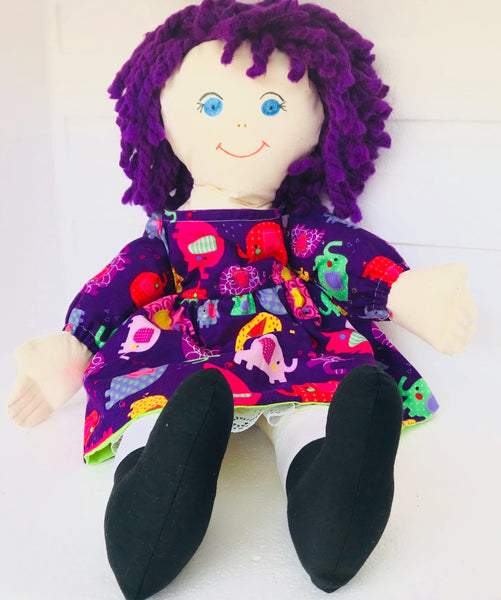 Mini Rag Doll - Ella